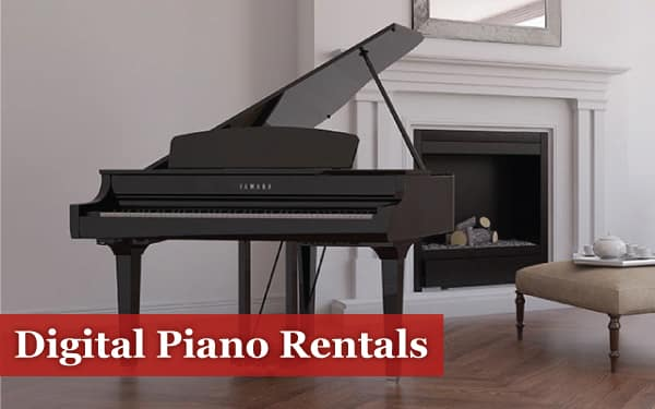 digital piano rentals
