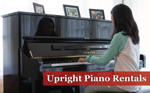 upright piano rentals