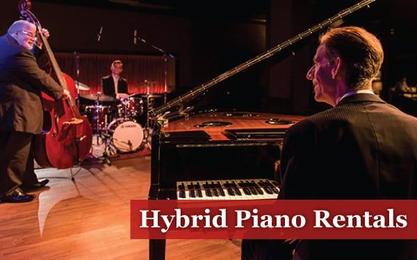 hybrid piano rentals